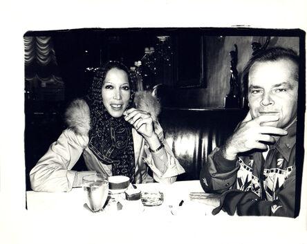 Andy Warhol, 'Andy Warhol, Photograph of Marina Schiano and Jack Nicholson circa 1978', ca. 1978
