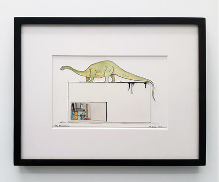 Mark Dion, 'The Brontosaur', 2017