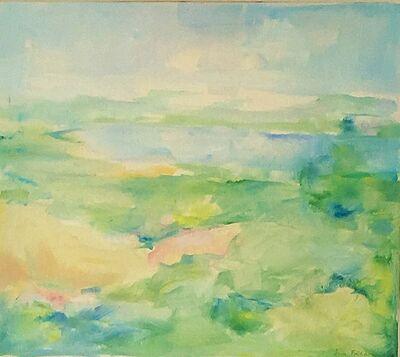 Jane Freilicher, 'Summer Landscape with Pond View', ca. 1975