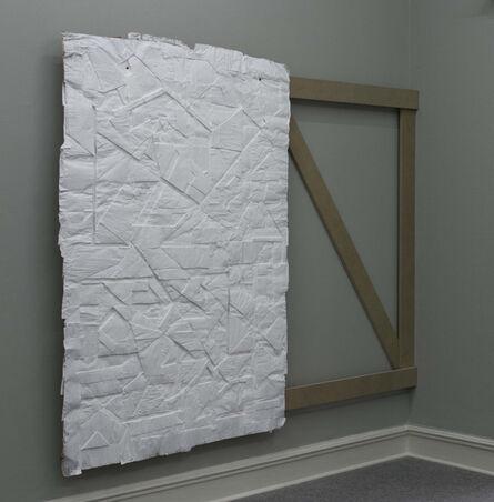 Tobias Putrih, 'White City/Front Panel III', 2012