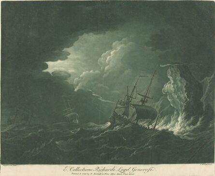 Elisha Kirkall after Willem van de Velde the Elder, 'Shipping Scene from the Collection of Richard Lloyd', 1720s