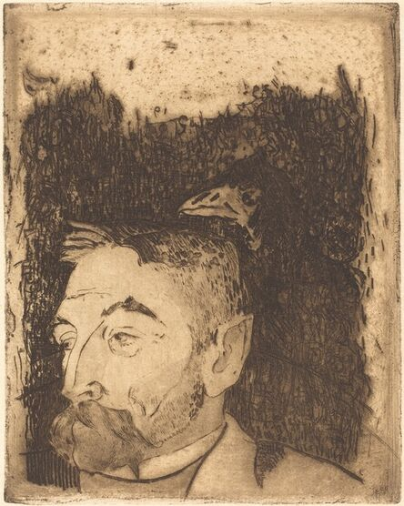 Paul Gauguin, 'Stéphane Mallarmé', 1891