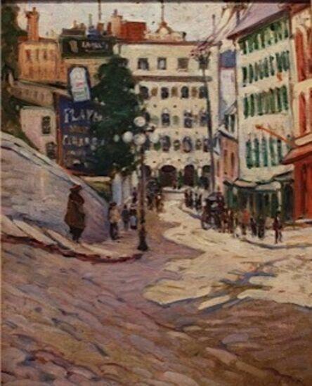 Dixie Selden, 'Quebec City', 1919