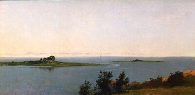 John Frederick Kensett, 'Fish Island from Kensett's Studio on Contentment Island', 1827