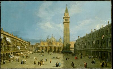 Canaletto, 'Piazza San Marco', late 1720s