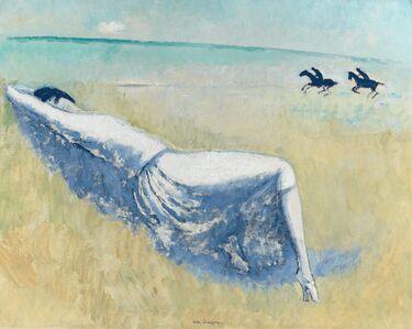 Kees van Dongen, 'Femme Allongée', ca. 1924