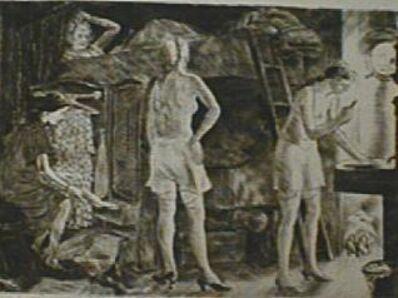 Peggy Bacon, 'Close Quarters', 1932