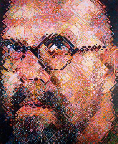 Chuck Close, 'Self Portrait', 2000