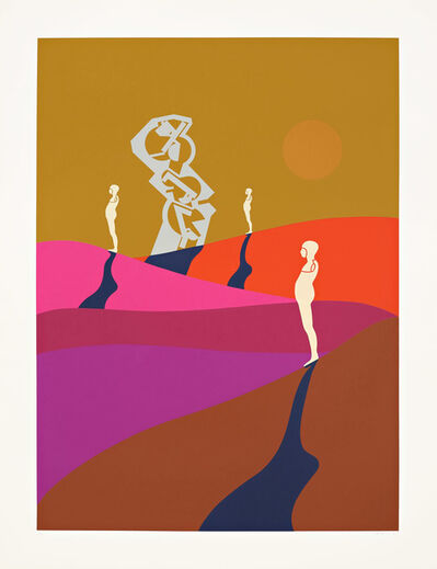Ernest Trova, 'Series Seventy-Five (Print Four)', 1975