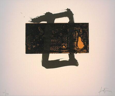 Antoni Tàpies, 'Variacions sobre un rectangle 2', 2001