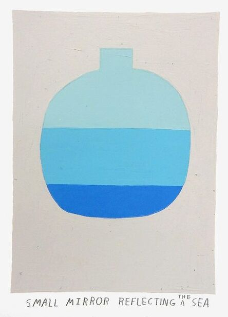 Kristin Texeira, 'small mirror reflecting the sea', 2017