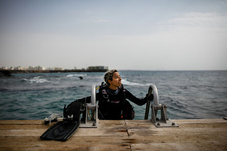 "Tasneem Alsultan, '""We women often joke that we can't drive, but we can dive""', 2016"
