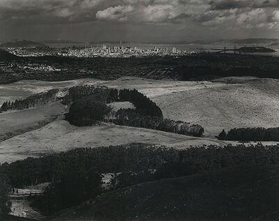 Ansel Adams, 'San Francisco from Television Park, San Bruno Mountain', 1945-printed before 1953