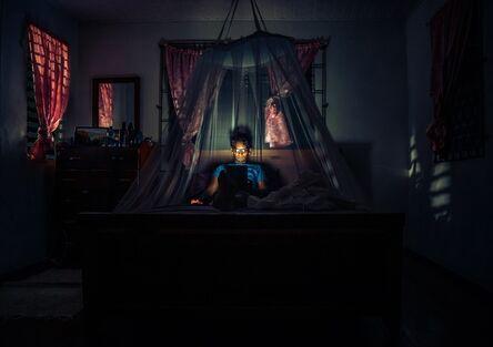 Karran Sahadeo, 'Untitled (blue)', 2014