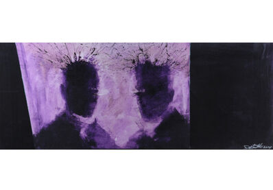 Richard Hambleton, 'Purple Shadow Head', 2014