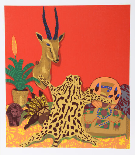 Hunt Slonem, 'Ocelot', 1981