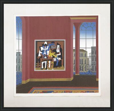 Thomas Mcknight, 'PICASSO IN VENICE', 1982