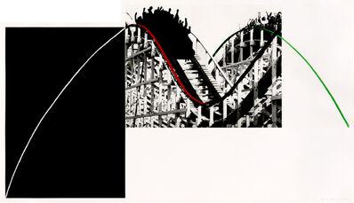 John Baldessari, 'Rollercoaster', 1989