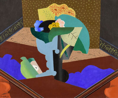 Leopold Survage, 'Nature Morte aux Fleurs', ca. 1915-1916