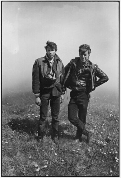 Danny Lyon, 'Dave and Rawhide (Colombus Outlaws), Elkhorn, Wisconsin, The Bikeriders Portfolio', 1966