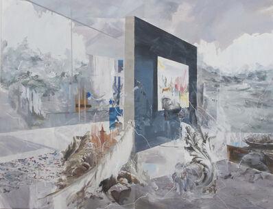 Fu Site 傅斯特, 'Behind the Blue Wall', 2016