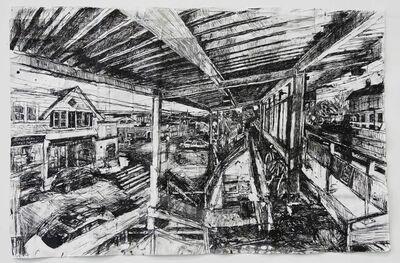 Stanley Lewis, 'Westport Train Station', 2013