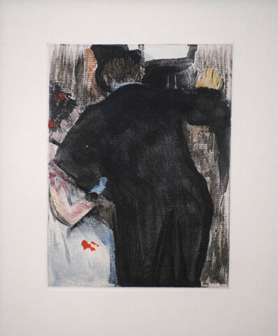 Edgar Degas, 'The Admirer', 1938-1939