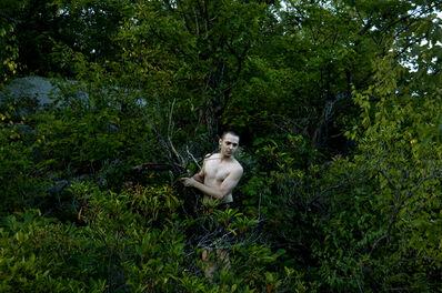 EVAN SCHWARTZ, 'Andy in the Woods', 2014