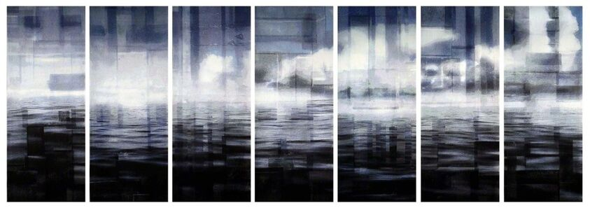 Per Fronth, 'Inner Peace (post-traumatic) Tapestry (Split Sky/Approaching Storm/Atlantic Timeline)', 2013