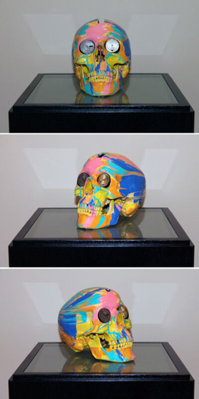 Damien Hirst, 'The Hours Spin Skull #3', 2009