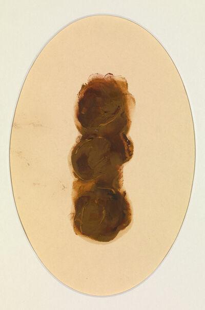 Helen Chadwick, 'Cameo III (Turd Painting)', 1991