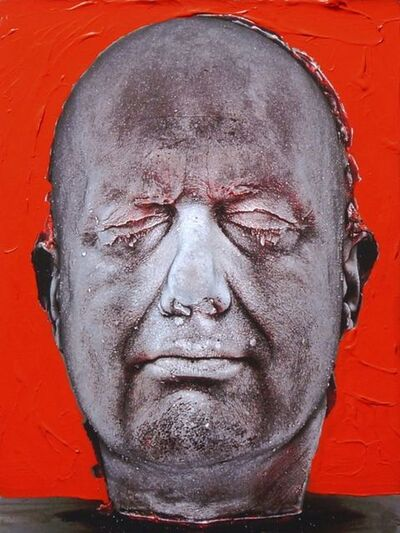 Marc Quinn, 'Self (Hand-Painted) (Red)', 2006