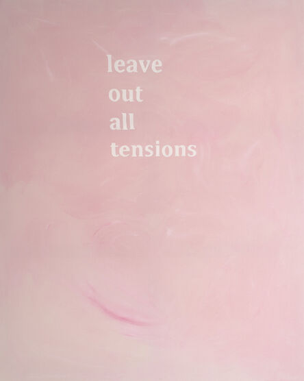 Camila Oliveira Fairclough, 'Leave Out All Tensions', 2016