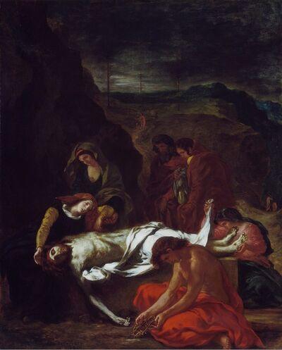 Eugène Delacroix, 'The Lamentation', 1848