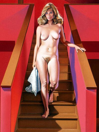Mel Ramos, 'Nude Descending a Staircase', 1989