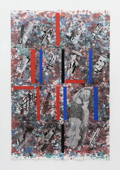 Eugenio Dittborn, 'Tintura Airmail Painting No. 193  ', 2017-2018