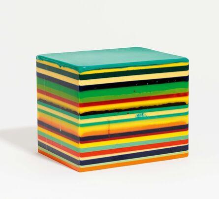Markus Linnenbrink, 'Gestreiftes 3D', 1997