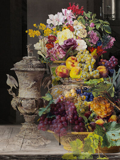 Bae Joon Sung, 'The Costume of Painter - Still Life With flowers and fruits', 2018