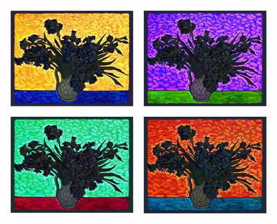 Francisco Bugallo, 'Van Gogh as a pretext - Irises (Grouo No 1, 2, 3 & 4)', 2014