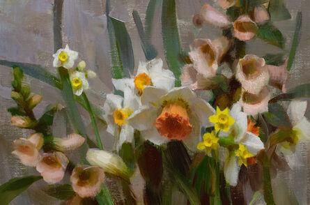 Daniel Keys, 'Narcissus & Foxgloves', 2021