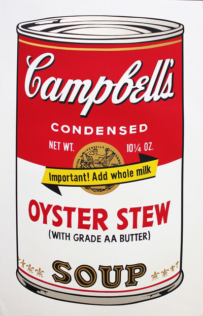 Andy Warhol, 'Oyster Stew, Campbell's Soup II ', 1969