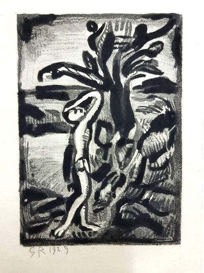 """Georges Rouault, 'Original Engraving """"Ubu the King"""" by Georges Rouault', 1929"""