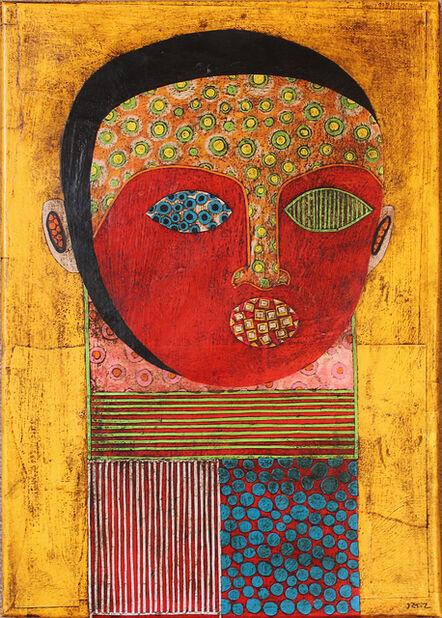 Gustavo Ortiz, 'Long Necked Magician IV'