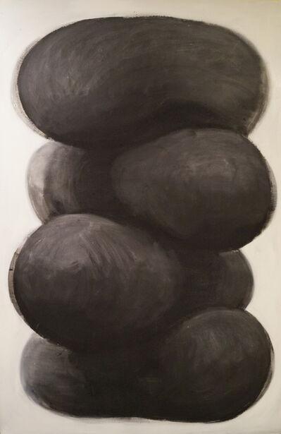 Brian Bonebrake, 'Stack of black matter', 2014