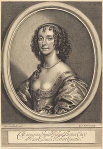 William Faithorne after Sir Anthony van Dyck, 'Margaret Smith'