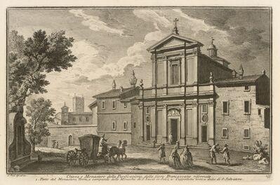 Giuseppe Vasi, 'Chiesa e Monastero della Purificazione, delle Suore Francescane riformate', 1747-1801