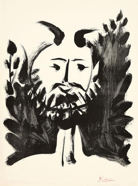 """Pablo Picasso, '""""Faune souriant""""', 10.03.1948"""