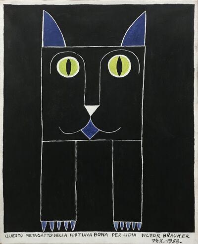 Victor Brauner, 'Metagatto', 1958