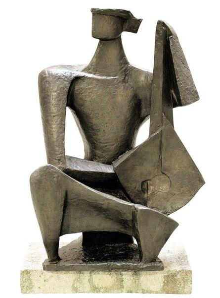 Wander Bertoni, 'Large Lute Player', Design 1951-cast 2017