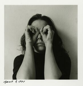 Melissa Shook, 'Self-Portrait, April 3. 1973', 1973